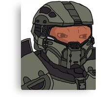 Master Chief Feels Canvas Print