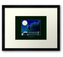 The Sacred Canoe Framed Print