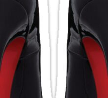 Christian Louboutin Red Sole Pair Sticker