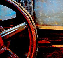 farm equipment up close and personal by Mark Malinowski