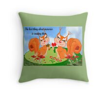 Best memories are Created (38245 Views) Throw Pillow