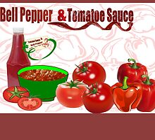 Bell Pepper & Tomato Sauce (4107 Views) by aldona