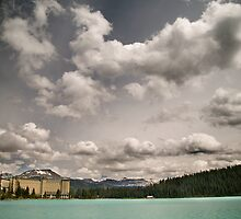 Fairmont chateau hotel in lake louise, Banff by alopezc72