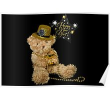 New Year Bear Poster