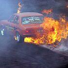 Burning Rubber by Mark Hamilton