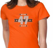 B-day 47 (Light&Darkgrey) Womens Fitted T-Shirt