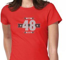 B-day 48 (Light&Darkgrey) Womens Fitted T-Shirt