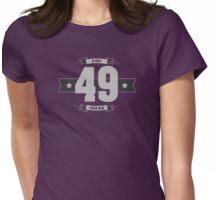 B-day 49 (Light&Darkgrey) Womens Fitted T-Shirt