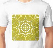Gold background Unisex T-Shirt