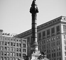 Soldiers and Sailors Monument Study 2  by Robert Meyers-Lussier