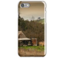 Old house in the valley iPhone Case/Skin