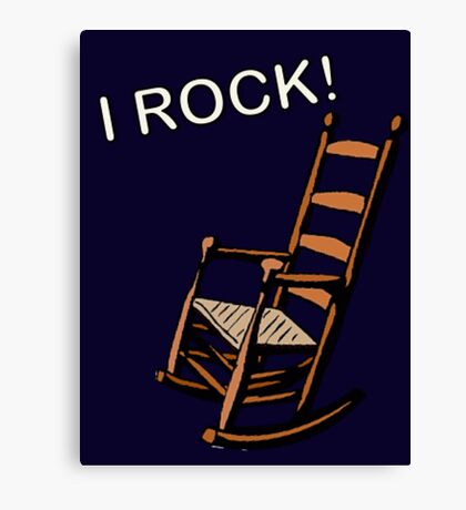 I Rock!! Canvas Print
