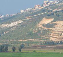 an awesome Lebanon landscape Sticker