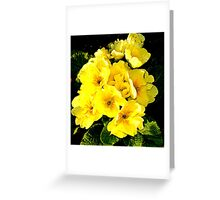 JUST A DASH OF YELLOW Greeting Card