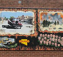 Firefighters Mural by ScenerybyDesign