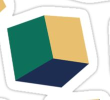 Optical Cube Sticker