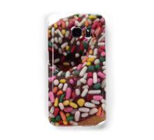 Chocolate Sprinkled Donut Sticker - Trendy/Hipster Meme Samsung Galaxy Case/Skin