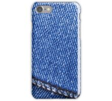 Detail of Jeans iPhone Case/Skin