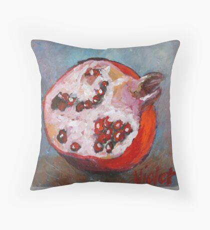 Pomegranate 1 Throw Pillow