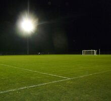 Soccer Under Stadium Lights by atoth
