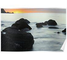 Myponga sunset - The Fleurieu Peninsula Poster