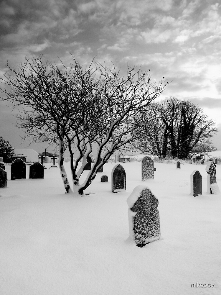 Winter in the Churchyard by mikebov
