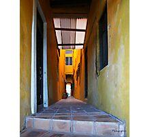 House in San Juan, Puerto Rico Photographic Print