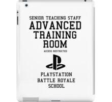 Senior Staff Advanced Room Playstation Battle Royale (Black) iPad Case/Skin