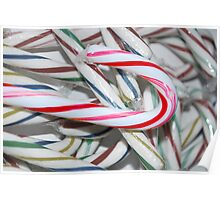 A Candy Cane to Notice Poster