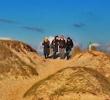 On the dune hill..... by Adri  Padmos