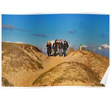 On the dune hill..... Poster