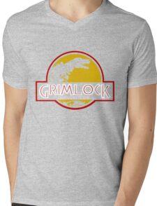 Grimlock (Jurassic Park) Mens V-Neck T-Shirt