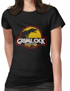 Grimlock (Jurassic Park) Womens Fitted T-Shirt