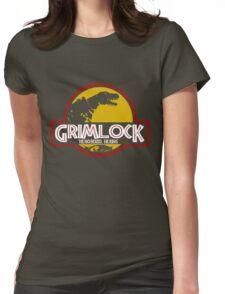 Grimlock (Jurassic Park) Womens Fitted T-Shirt