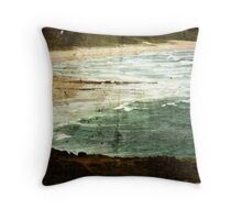 Whitewater Shores Throw Pillow