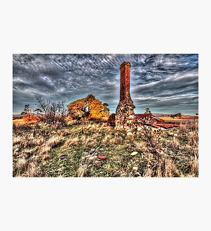 Collapsed at Collector. Photographic Print