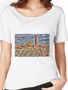 Collapsed at Collector. Women's Relaxed Fit T-Shirt