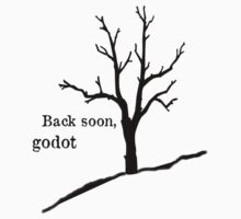 Back soon, godot by inkedsandra