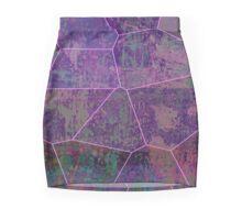 Tatty Mosaic Mini Skirt