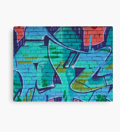 Fitzroy - Another brick in the wall Canvas Print