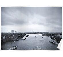 London Cityscape Poster