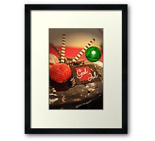 God Jul Framed Print
