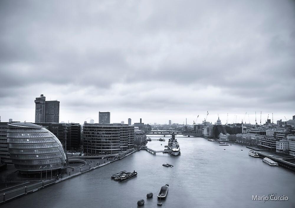 River Thames from Tower Bridge by Mario Curcio