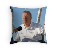 Geoff Holt Throw Pillow