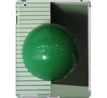Green ball iPad Case/Skin