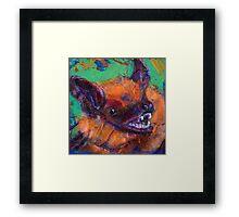 Earth Keeper: Big Brown Bat Framed Print