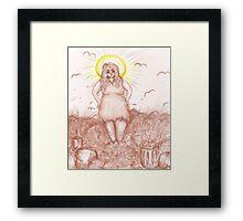 The Patron Saint of Trash Framed Print