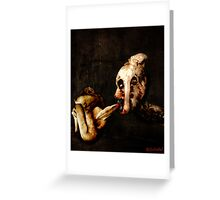 Astral Projection. Greeting Card