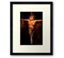 Witch Hunt. Framed Print