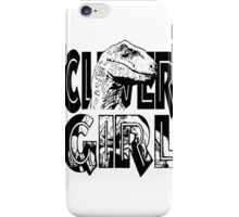 raptor black iPhone Case/Skin